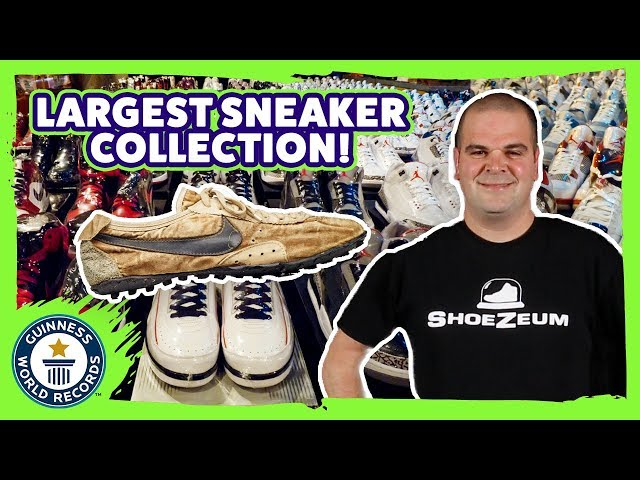World's largest sneaker collection! – Guinness World Records