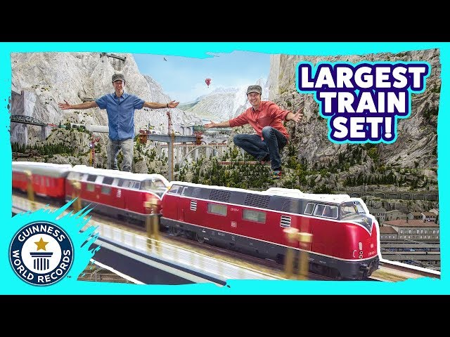 Largest model railway expanded! | Miniatur Wunderland – Guinness World Records